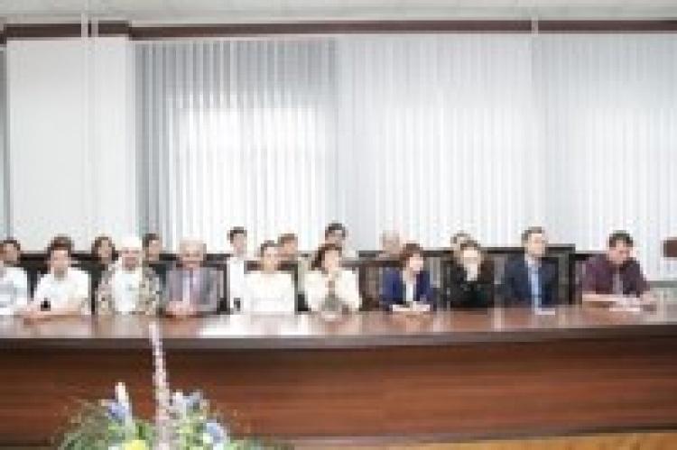 Зустріч адміністрації університету із переможцями та призерами міжнародних і всеукраїнських олімпіад