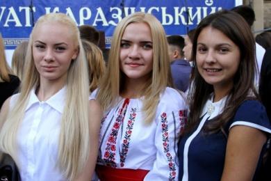 Посвята першокурсників у студенти Каразінського університету