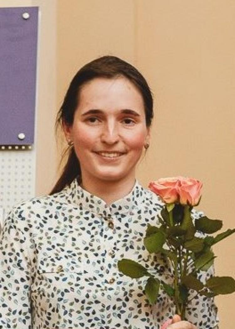 Вітаємо Вус Катерину Олександрівну