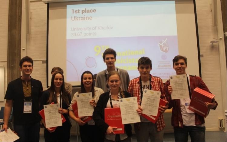 Міжнародний студентський турнір фізиків: вітаємо переможців