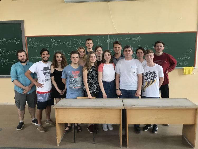 Визначено переможців на кращу студентську групу університету
