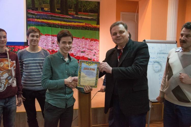 ХХ Всеукраїнський юніорський турнір юних фізиків