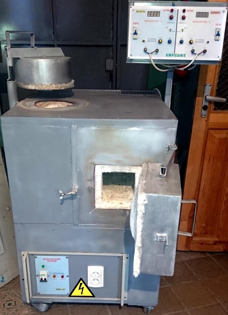 Розробка та створення високотемпературної двокамерної установки для здійснення термічних та хіміко-термічних процесів у повітряній атмосфері