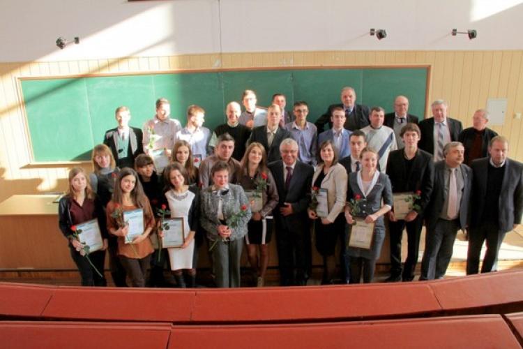 Стипендіати конкурсу для студентів та молодих учених