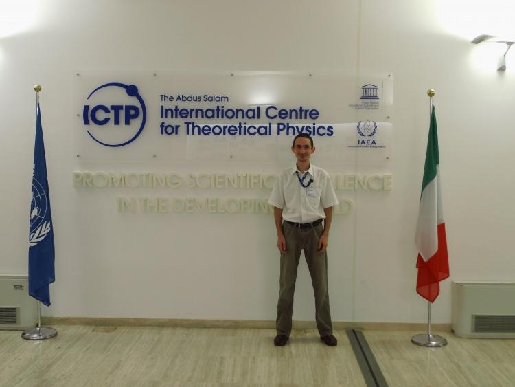 Участь у міжнародній школі в ICTP