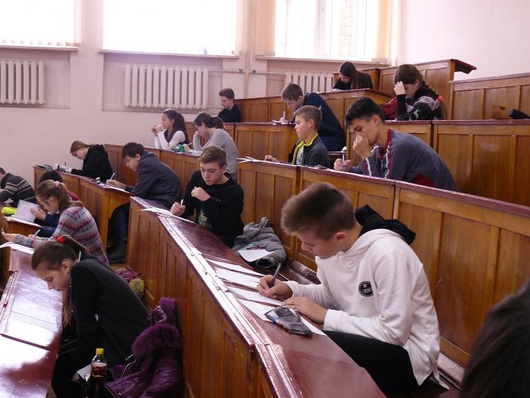 Результати всеукраїнської учнівської олімпіади з фізики для учнів 8–11 класів