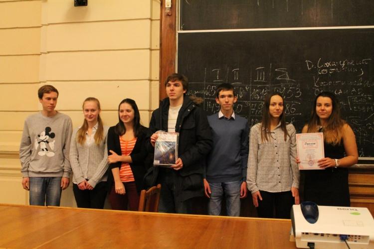 Вітаємо команду фізико-технічного факультету «Токонци»