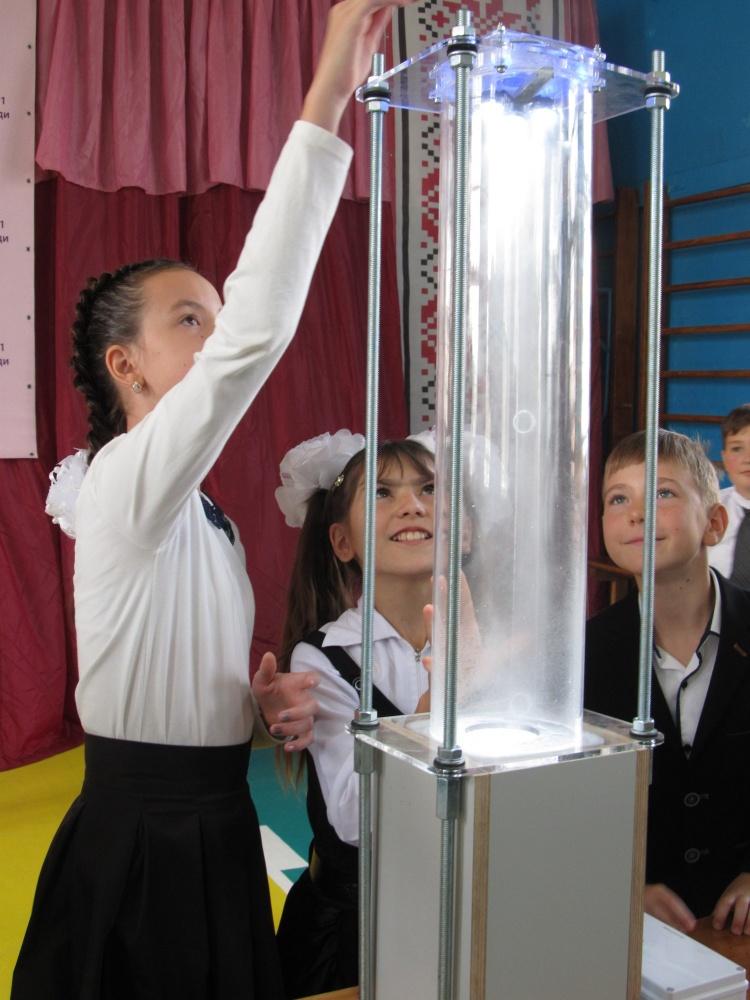 Ландау-центр відвідав Куп'янську гімназію № 1